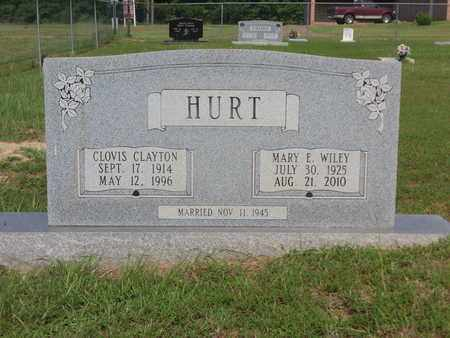 HURT, CLOVIS CLAYTON - Cass County, Texas   CLOVIS CLAYTON HURT - Texas Gravestone Photos
