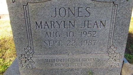 JONES, MARLYN JEAN - Cass County, Texas | MARLYN JEAN JONES - Texas Gravestone Photos