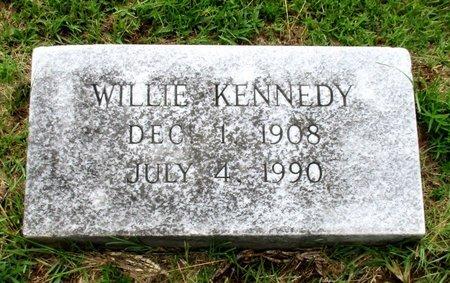 KENNEDY, WILLIE - Cass County, Texas   WILLIE KENNEDY - Texas Gravestone Photos