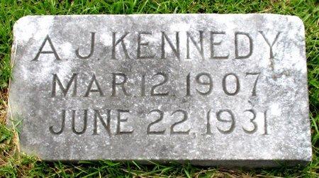 KENNEDY, A. J. - Cass County, Texas | A. J. KENNEDY - Texas Gravestone Photos