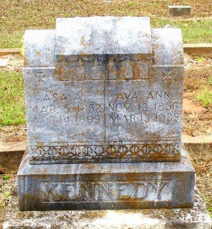 KENNEDY, ASA A. - Cass County, Texas | ASA A. KENNEDY - Texas Gravestone Photos