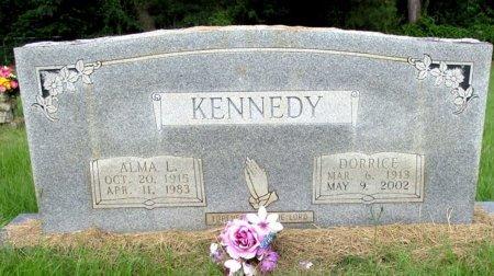 KENNEDY, ALMA L. - Cass County, Texas   ALMA L. KENNEDY - Texas Gravestone Photos
