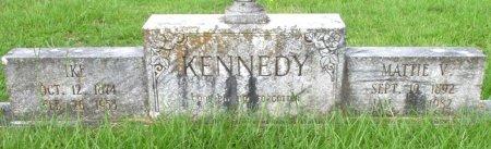 KENNEDY, MATTIE V  - Cass County, Texas | MATTIE V  KENNEDY - Texas Gravestone Photos