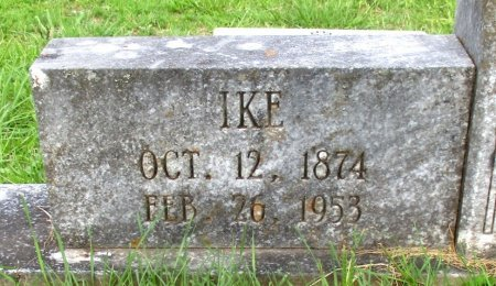 KENNEDY, IKE (CLOSEUP) - Cass County, Texas   IKE (CLOSEUP) KENNEDY - Texas Gravestone Photos