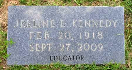 KENNEDY, JERLINE E. - Cass County, Texas | JERLINE E. KENNEDY - Texas Gravestone Photos