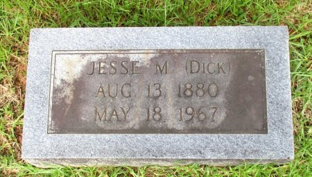 "KENNEDY, JESSE M. ""DICK""  - Cass County, Texas 