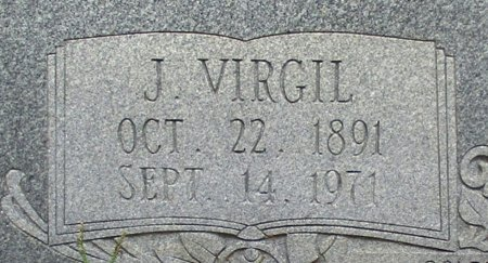 KENNEDY, J. VIRGIL  (CLOSE UP) - Cass County, Texas | J. VIRGIL  (CLOSE UP) KENNEDY - Texas Gravestone Photos