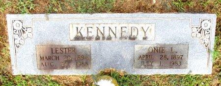 KENNEDY, LESTER  - Cass County, Texas | LESTER  KENNEDY - Texas Gravestone Photos