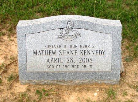 KENNEDY, MATHEW SHANE  - Cass County, Texas | MATHEW SHANE  KENNEDY - Texas Gravestone Photos