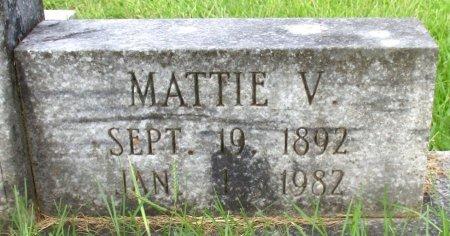 KENNEDY, MATTIE V (CLOSEUP) - Cass County, Texas | MATTIE V (CLOSEUP) KENNEDY - Texas Gravestone Photos
