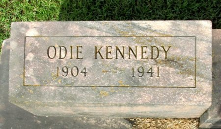KENNEDY, ODIE (CLOSE UP) - Cass County, Texas | ODIE (CLOSE UP) KENNEDY - Texas Gravestone Photos