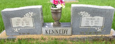 KENNEDY, IDA LEE  - Cass County, Texas | IDA LEE  KENNEDY - Texas Gravestone Photos