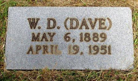 "KENNEDY, W. D. ""DAVE"" - Cass County, Texas | W. D. ""DAVE"" KENNEDY - Texas Gravestone Photos"