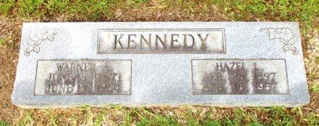 KENNEDY, WARNER A. - Cass County, Texas | WARNER A. KENNEDY - Texas Gravestone Photos