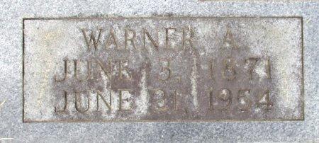 KENNEDY, WARNER A. (CLOSE UP) - Cass County, Texas | WARNER A. (CLOSE UP) KENNEDY - Texas Gravestone Photos