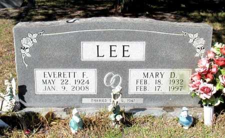 LEE, EVERETT F. - Cass County, Texas | EVERETT F. LEE - Texas Gravestone Photos