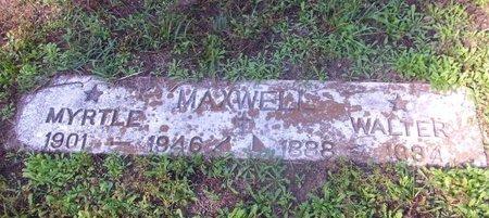 MAXWELL, MYRTLE - Cass County, Texas | MYRTLE MAXWELL - Texas Gravestone Photos