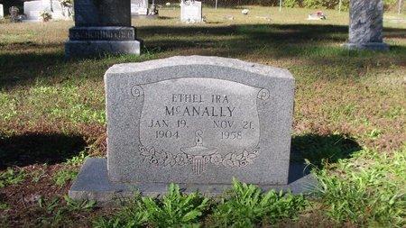 MCANALLY, ETHEL IRA - Cass County, Texas | ETHEL IRA MCANALLY - Texas Gravestone Photos