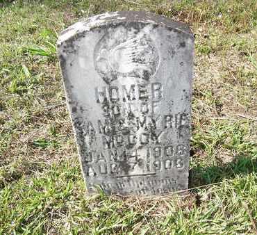MCCOY, HOMER - Cass County, Texas | HOMER MCCOY - Texas Gravestone Photos