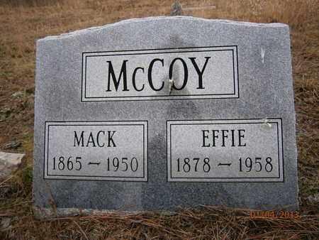 MCCOY, EFFIE - Cass County, Texas | EFFIE MCCOY - Texas Gravestone Photos