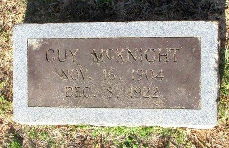 MCKNIGHT, GUY - Cass County, Texas | GUY MCKNIGHT - Texas Gravestone Photos