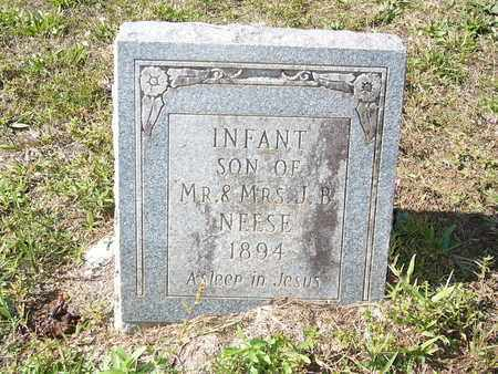 NEESE, INFANT SON - Cass County, Texas | INFANT SON NEESE - Texas Gravestone Photos