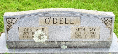 O'DELL, SETH GAY - Cass County, Texas | SETH GAY O'DELL - Texas Gravestone Photos