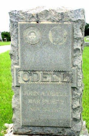 O'DELL, JOHN A. - Cass County, Texas | JOHN A. O'DELL - Texas Gravestone Photos