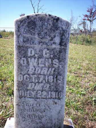 OWENS, D C - Cass County, Texas | D C OWENS - Texas Gravestone Photos