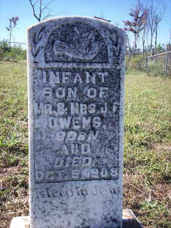 OWENS, INFANT SON - Cass County, Texas   INFANT SON OWENS - Texas Gravestone Photos
