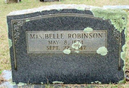 ROBINSON, BELLE - Cass County, Texas | BELLE ROBINSON - Texas Gravestone Photos