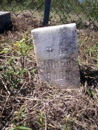 SANDERS, BABY - Cass County, Texas | BABY SANDERS - Texas Gravestone Photos