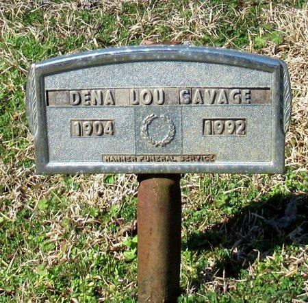 SAVAGE, DENA LOU - Cass County, Texas | DENA LOU SAVAGE - Texas Gravestone Photos