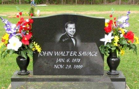 SAVAGE, JOHN WALTER  - Cass County, Texas   JOHN WALTER  SAVAGE - Texas Gravestone Photos
