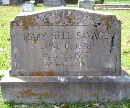 SAVAGE, MARY BELL  - Cass County, Texas   MARY BELL  SAVAGE - Texas Gravestone Photos