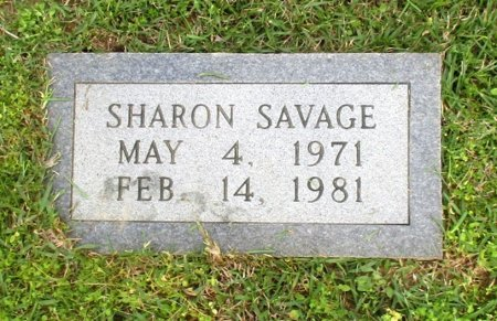 SAVAGE, SHARON ANN  - Cass County, Texas | SHARON ANN  SAVAGE - Texas Gravestone Photos