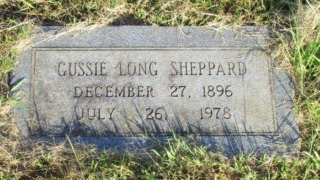 SHEPPARD, GUSSIE - Cass County, Texas | GUSSIE SHEPPARD - Texas Gravestone Photos