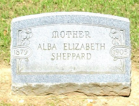 SHEPPARD, ALBA ELIZABETH - Cass County, Texas   ALBA ELIZABETH SHEPPARD - Texas Gravestone Photos