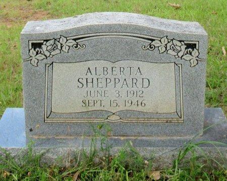 SHEPPARD, ALBERTA - Cass County, Texas | ALBERTA SHEPPARD - Texas Gravestone Photos