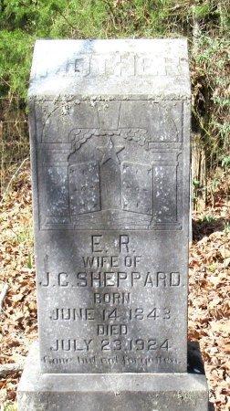 SHEPPARD, E. R. - Cass County, Texas | E. R. SHEPPARD - Texas Gravestone Photos