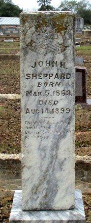 SHEPPARD, JOHN H. - Cass County, Texas | JOHN H. SHEPPARD - Texas Gravestone Photos