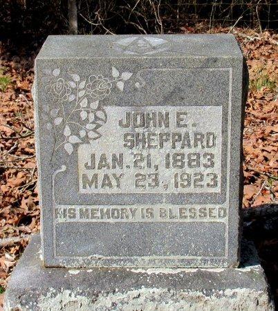 SHEPPARD, JOHN E. - Cass County, Texas | JOHN E. SHEPPARD - Texas Gravestone Photos