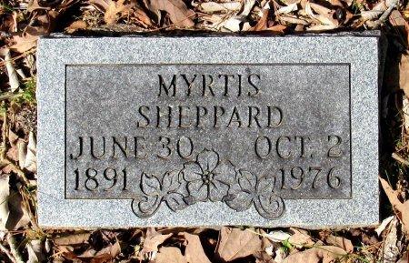 SHEPPARD, MYRTIS - Cass County, Texas   MYRTIS SHEPPARD - Texas Gravestone Photos