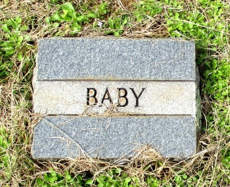 UNKNOWN, BABY - Cass County, Texas | BABY UNKNOWN - Texas Gravestone Photos