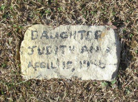 UNKNOWN, JUDITH ANN - Cass County, Texas | JUDITH ANN UNKNOWN - Texas Gravestone Photos