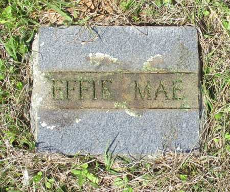 UNKNOWN, EFFIE MAE - Cass County, Texas | EFFIE MAE UNKNOWN - Texas Gravestone Photos