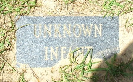 UNKNOWN, INFANT - Cass County, Texas   INFANT UNKNOWN - Texas Gravestone Photos