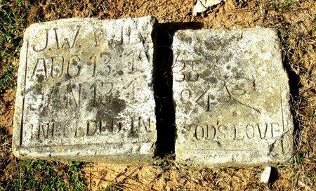 UNKNOWN, J. W. - Cass County, Texas | J. W. UNKNOWN - Texas Gravestone Photos