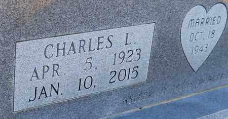 KENNEDY, CHARLES L (CLOSEUP) - Cass County, Texas | CHARLES L (CLOSEUP) KENNEDY - Texas Gravestone Photos