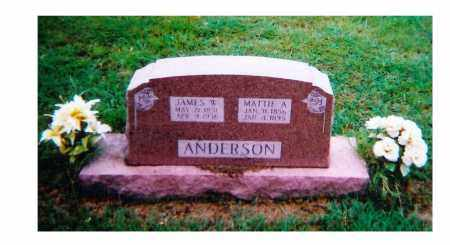 ANDERSON, MATTIE A (HOLD) - Clay County, Texas | MATTIE A (HOLD) ANDERSON - Texas Gravestone Photos